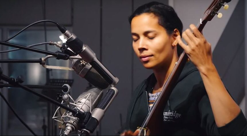 Rhiannon Giddens at Windmill Lane Recording Studios